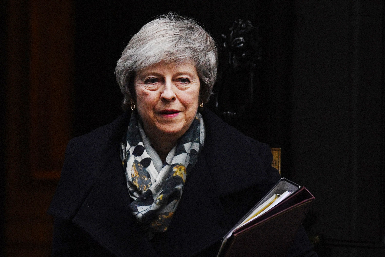 Theresa May hat eine schwere Niederlage im Unterhaus