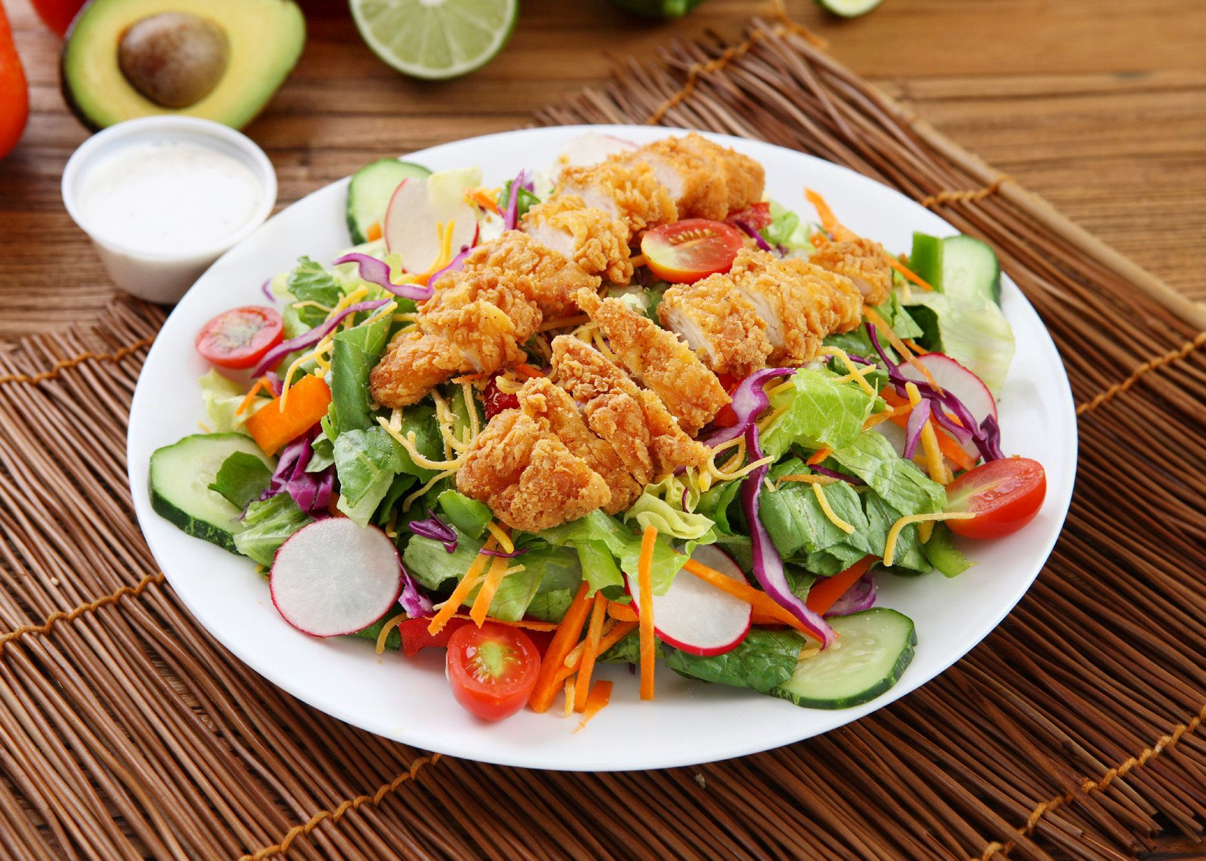 7 Of The Worst Fast-Food Salads According To Nutritionists