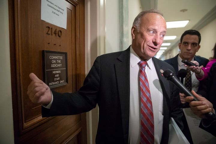 The House is now one step closer to censuring white supremacist Rep. Steve King himself.