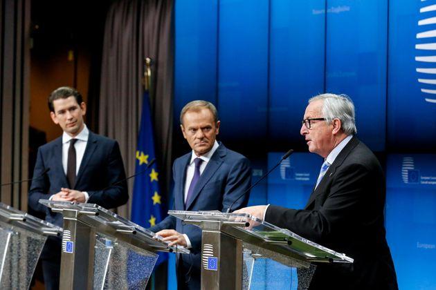 Kurz, Tusk und Juncker: Sie sind gegen