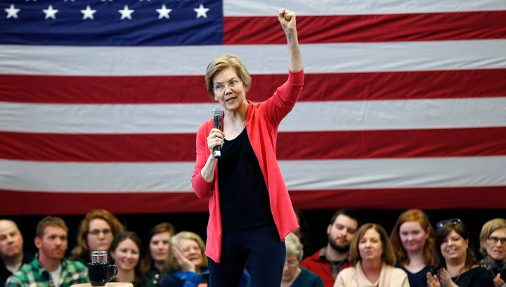 Sen. Elizabeth Warren was the first major Democratic figure to officially begin testing the waters for a 2020 run with t
