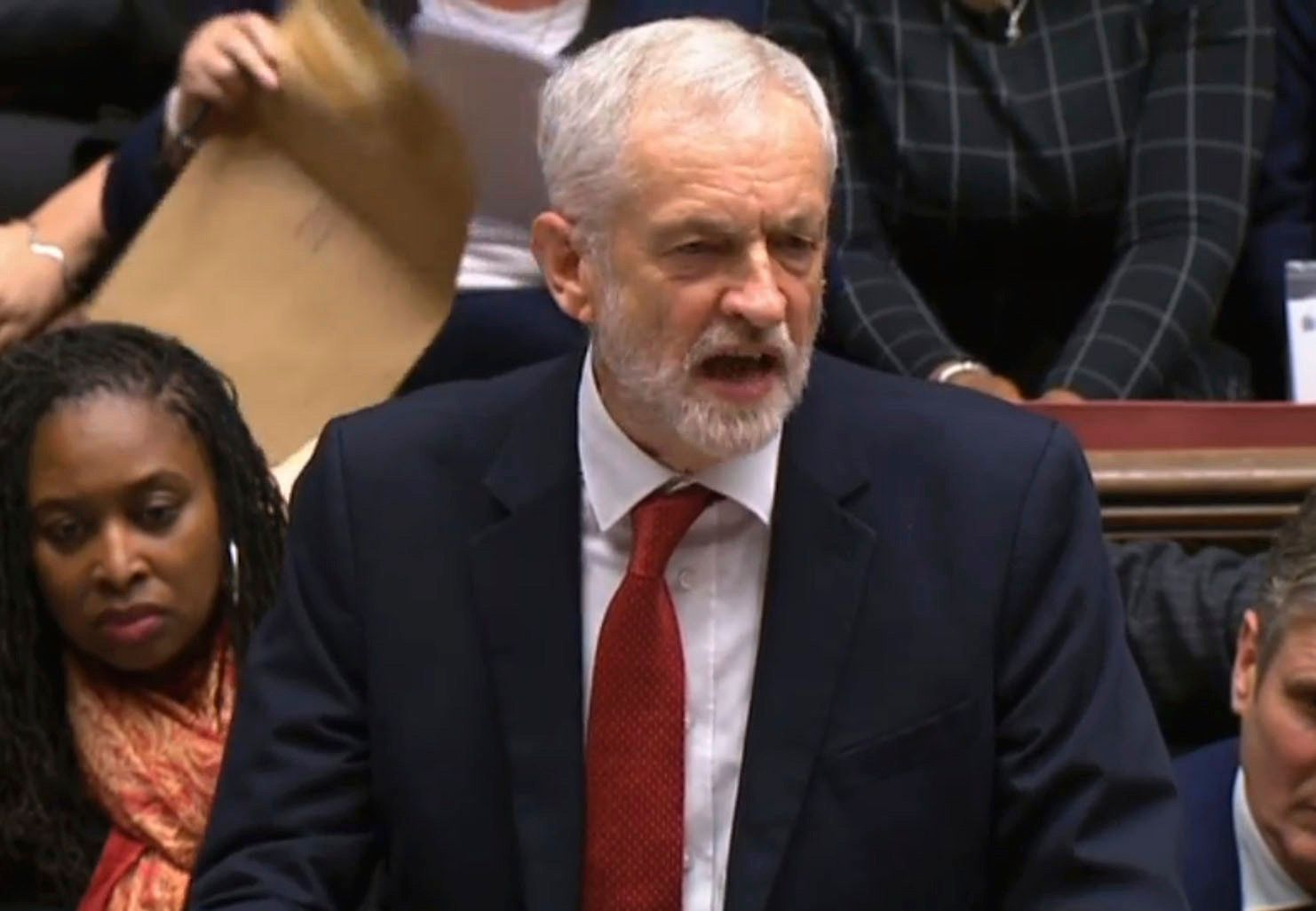 Jeremy Corbyn Bids For Election By Triggering No Confidence Vote In