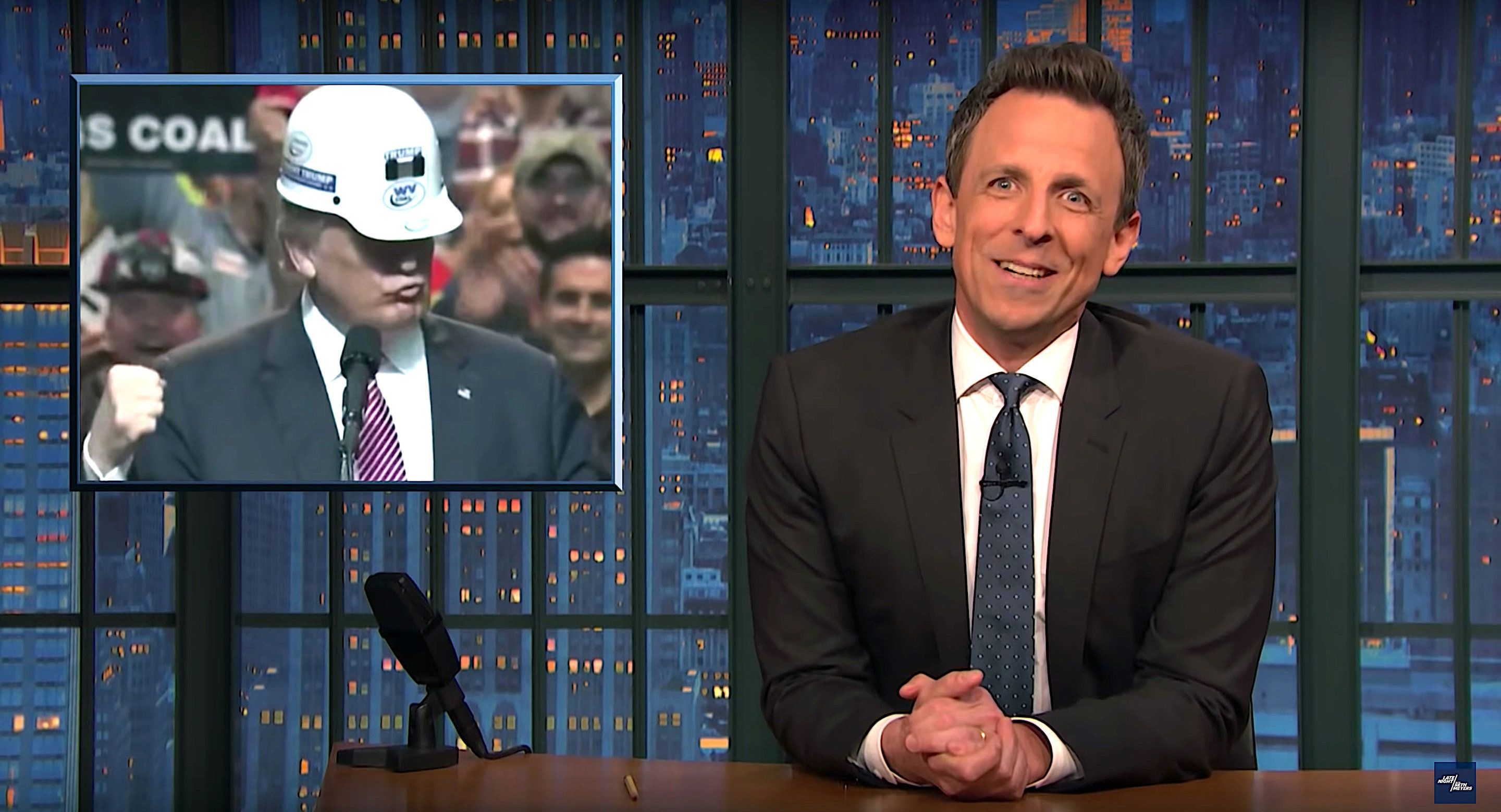 Seth Meyers Completely Destroys One Of Trump's Biggest