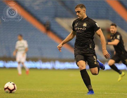 Football: le Marocain Abderrazak Hamdallah signe son second