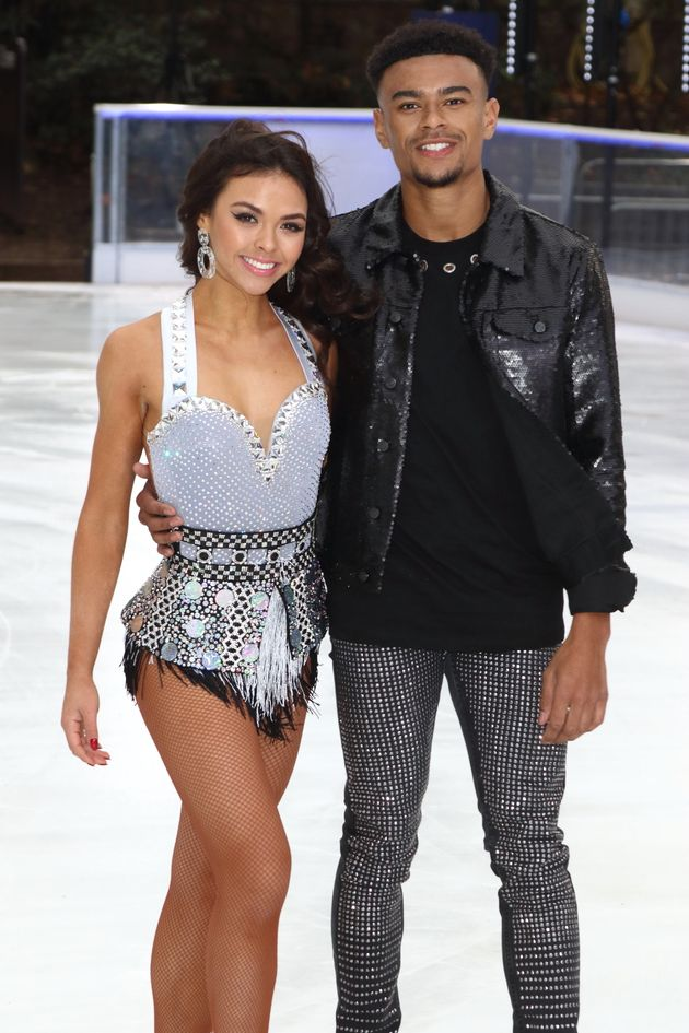 Vanessa Bauer is skating with Wes on 'Dancing On