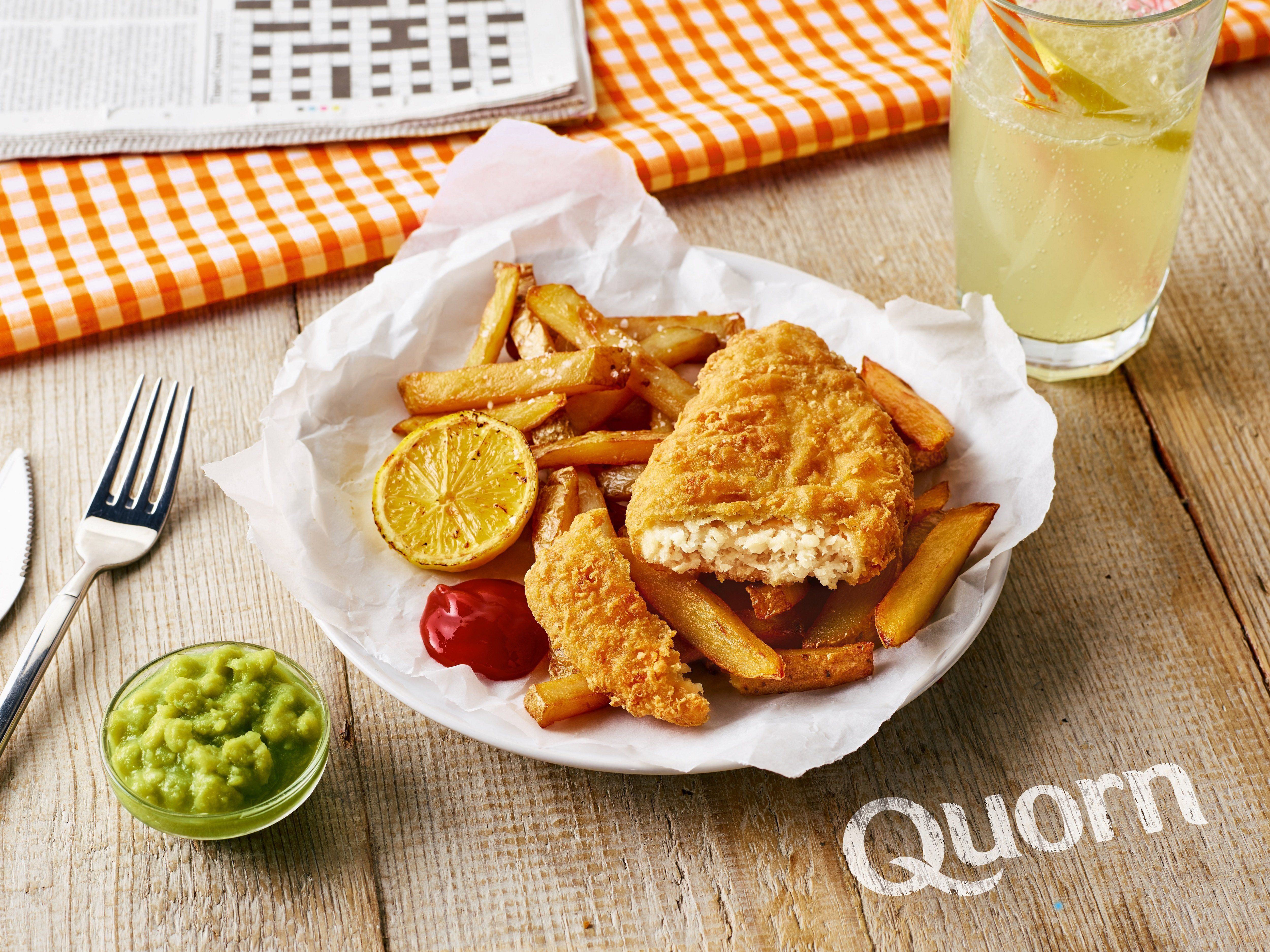 Quorn Launches Vegan 'Fish And Chips' (And We Can't Wait To Try
