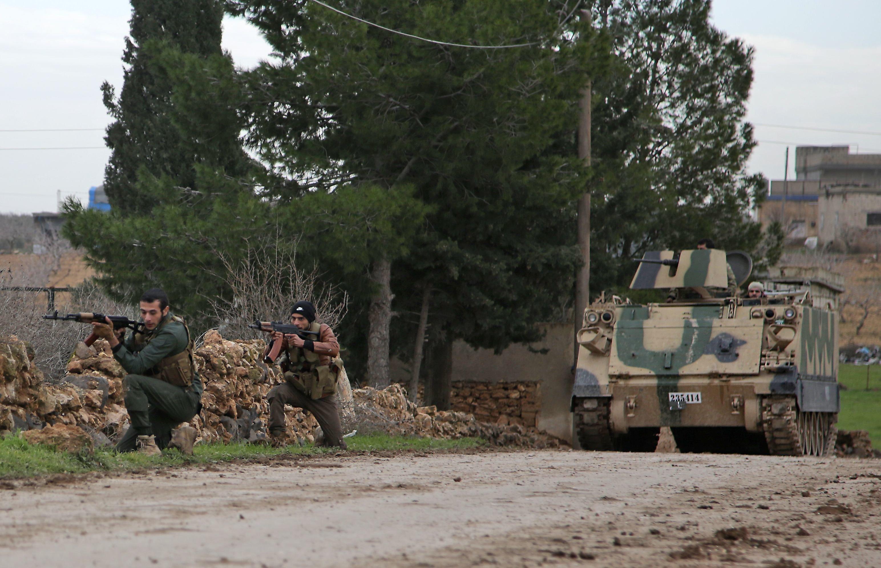 Syrie: les kurdes rejettent une zone de sécurité sous contrôle
