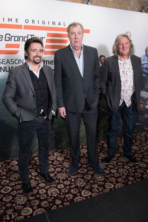 Richard Hammond, Jeremy Clarkson and James
