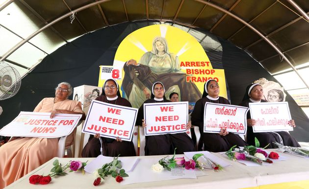Nuns demanding justice after the alleged sexual assault of a fellow nun by a