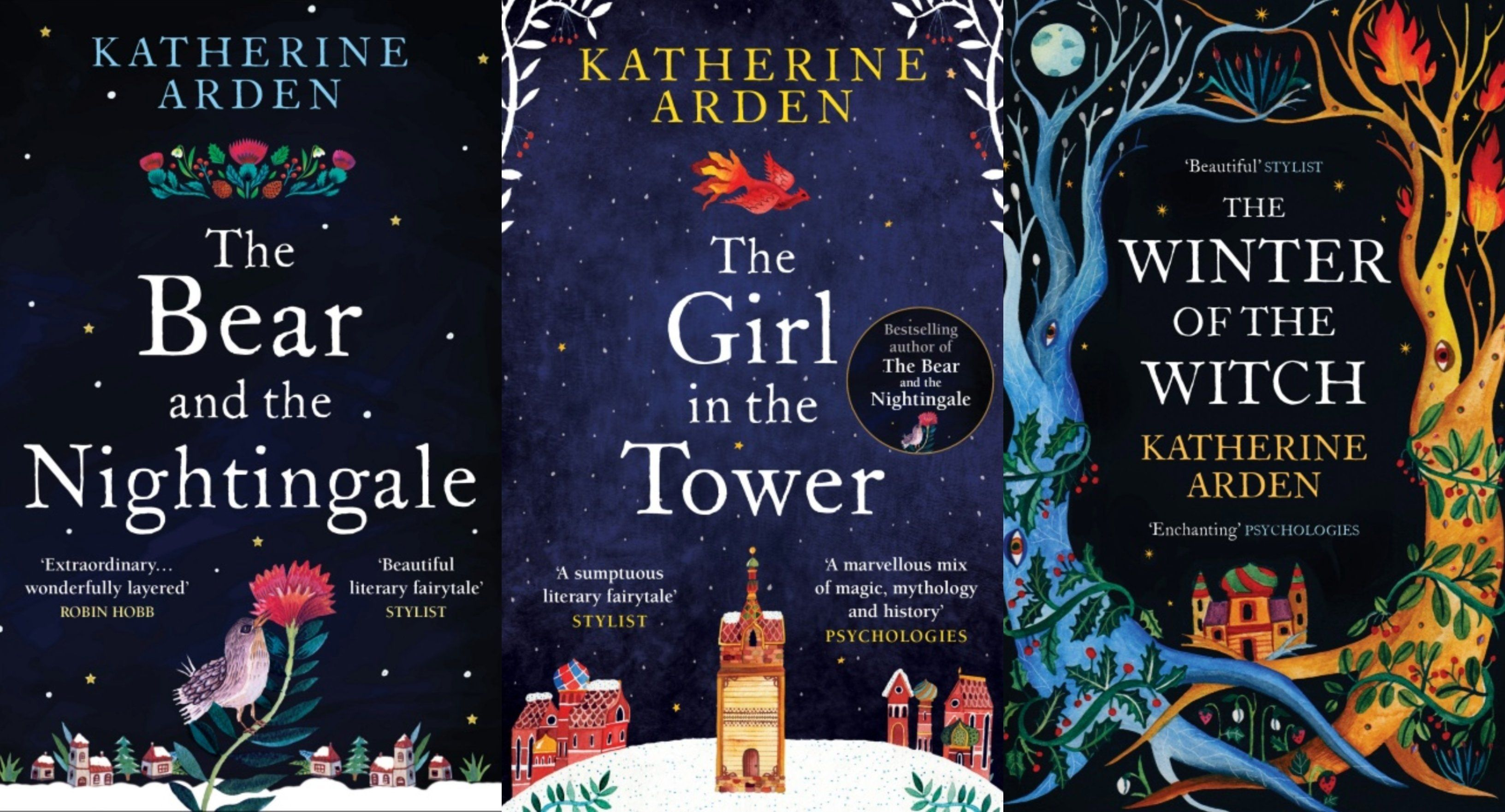 Katherine Arden's 'Winternight' Trilogy Is A Heady Mix Of Politics, Spirits & Wars In Old