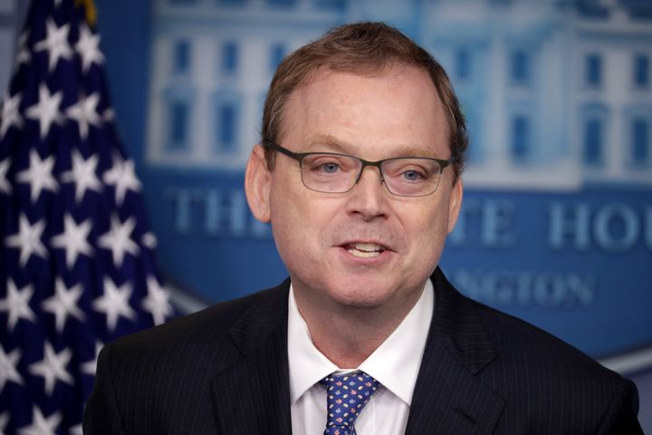 Council of Economic Advisers Chairman Kevin Hassett said the economy will take a big hit from the shutdown this quarter but is likely to rebound in the future.