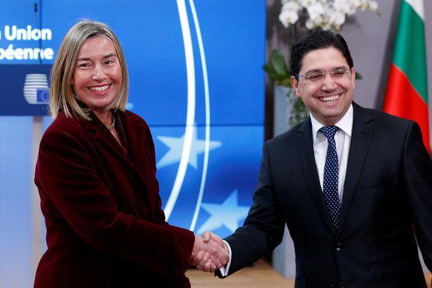 La haute représentante de l'Union pour les affaires étrangères et la politique...