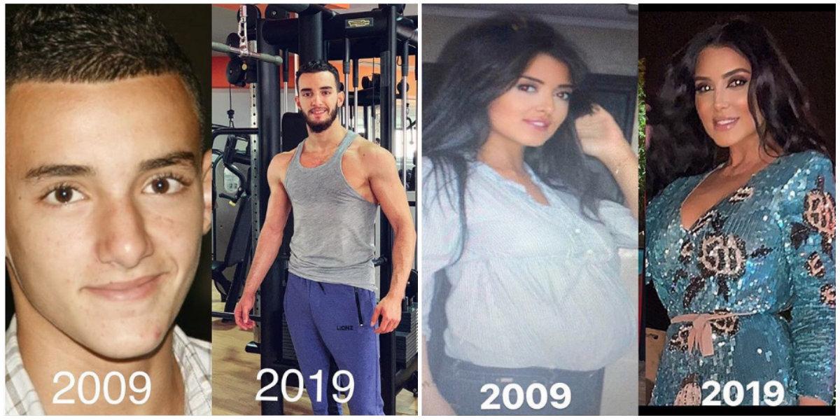 #10yearschallenge: Quand les célébrités marocaines s'essaient au défi web du