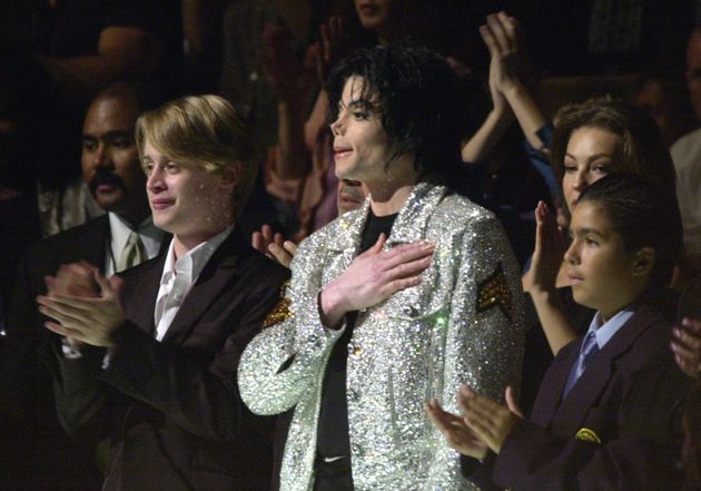 Macaulay Culkin at Michael Jackson's 30th Anniversary Celebration concert at Madison Square Garden in...