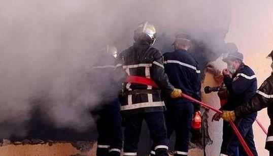 Incendie au marché de fruits et légumes de Boufarik : un mort et des dégâts matériels