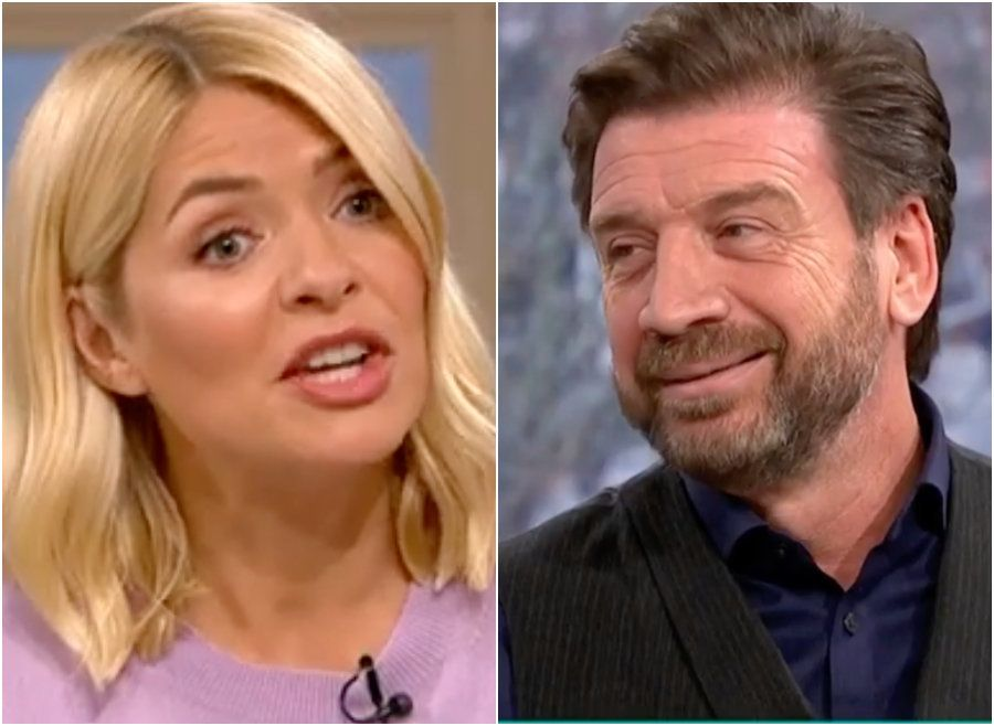 Holly Willoughby And Nick Knowles Disagree Over How 'I'm A Celebrity' Contestants Were