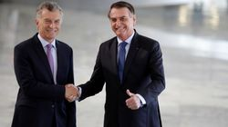 Macri e Bolsonaro contra Maduro: 'Escárnio com a