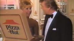 Τότε που ο Τραμπ έπαιζε σε διαφημίσεις McDonald's και Pizza