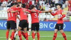 [아시안컵] 한국이 중국에 2-0으로