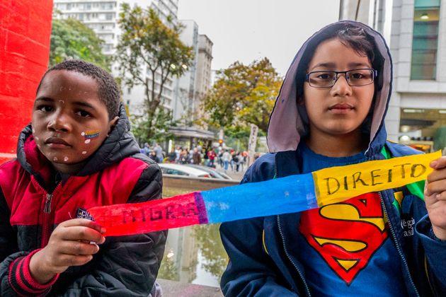 De janeiro de 2014 a julho de 2018, 57.575 venezuelanos solicitaram refúgio no