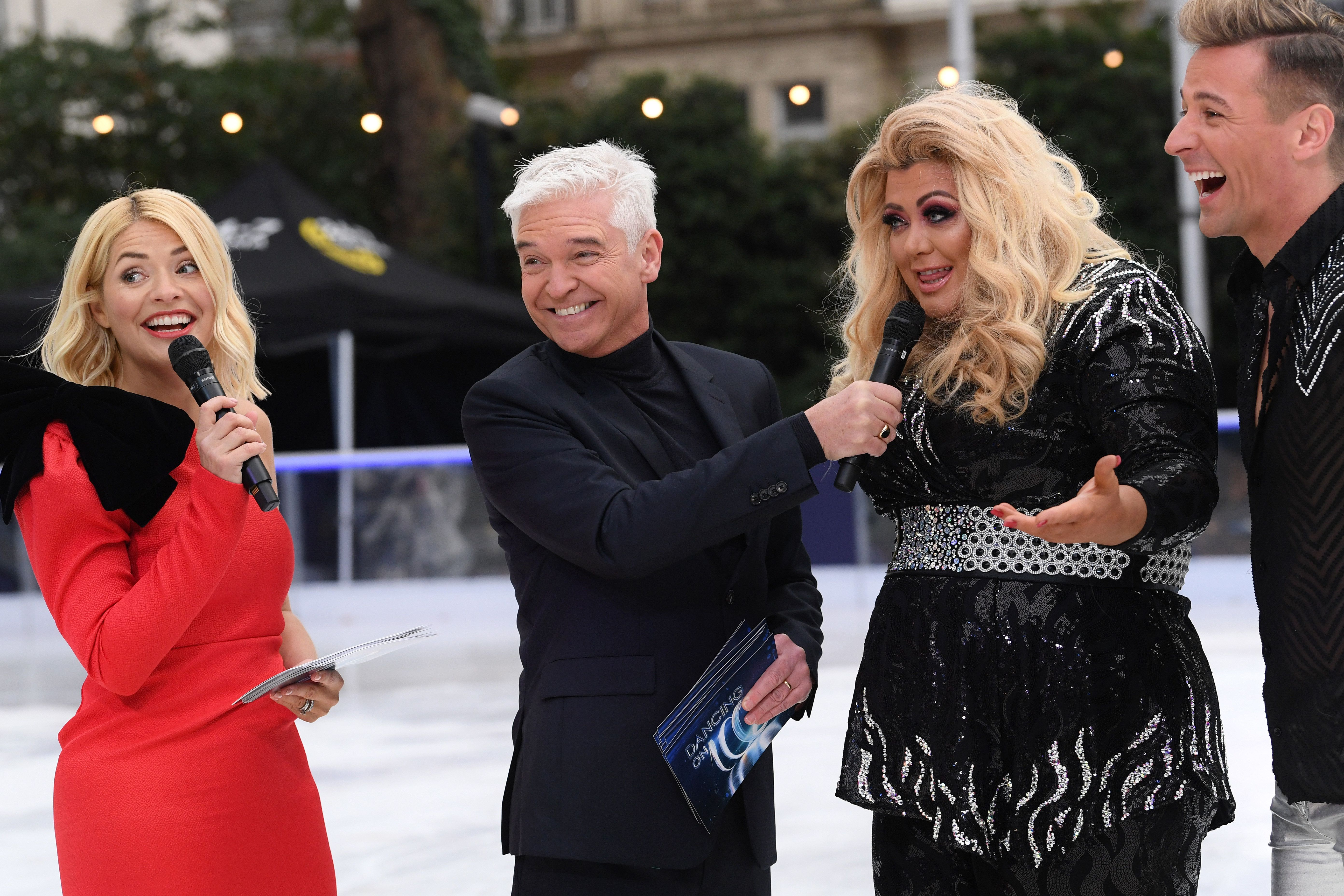 Gemma Collins Insists There's 'No Beef' With Holly Willoughby After 'Dancing On Ice'