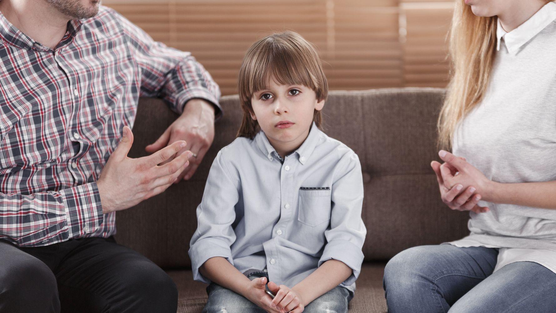 childhood divorce affects adults