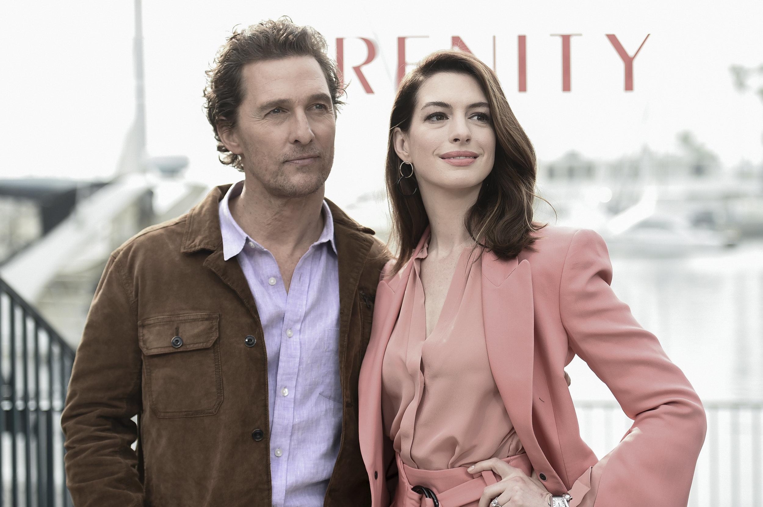 WATCH: Matthew McConaughey & Anne Hathaway Talk
