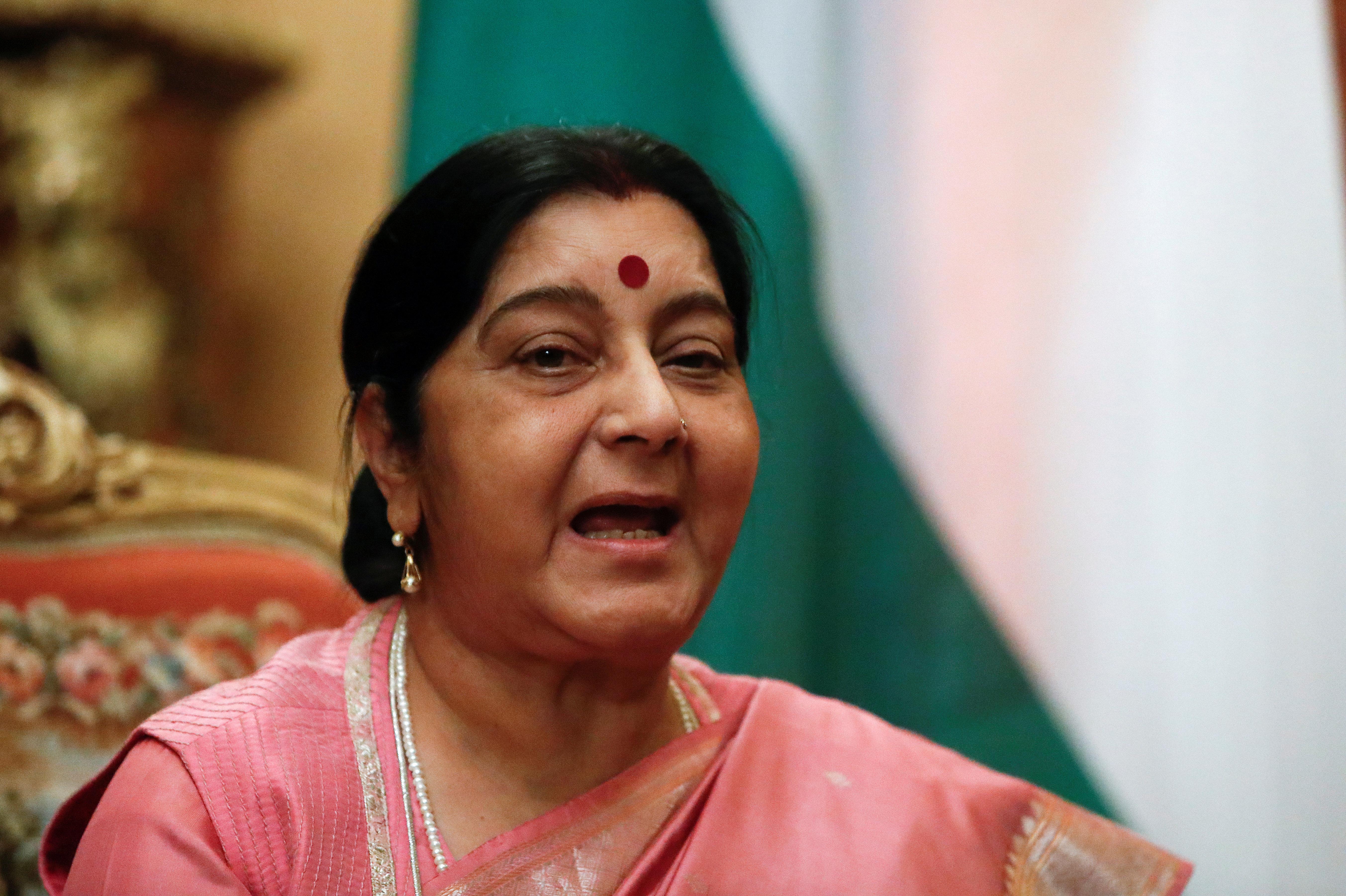 Quand une tunisienne de 31 ans impressionne la ministre indienne des Affaires étrangères,Sushma
