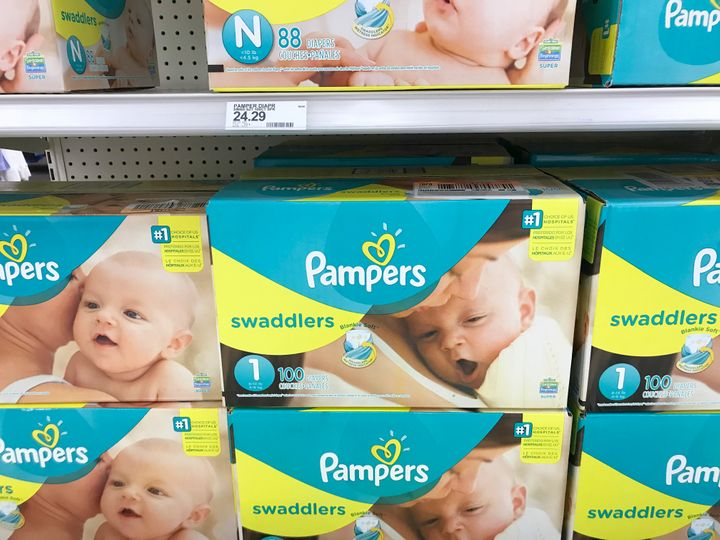 A number of nonprofits are giving out diapers during the government shutdown to families in need, but some can't keep up with