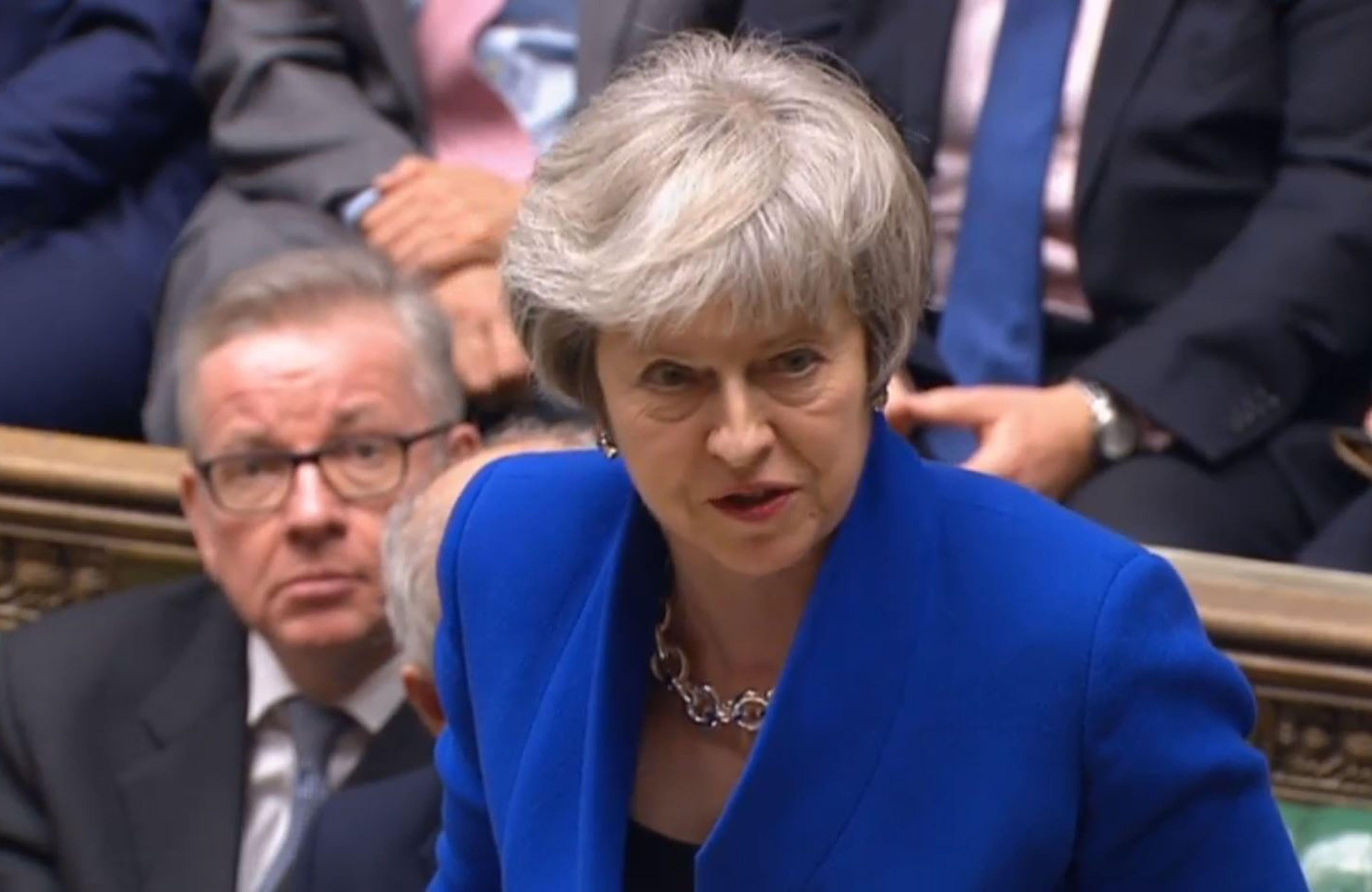 Theresa May Survives No-Confidence Vote In Her