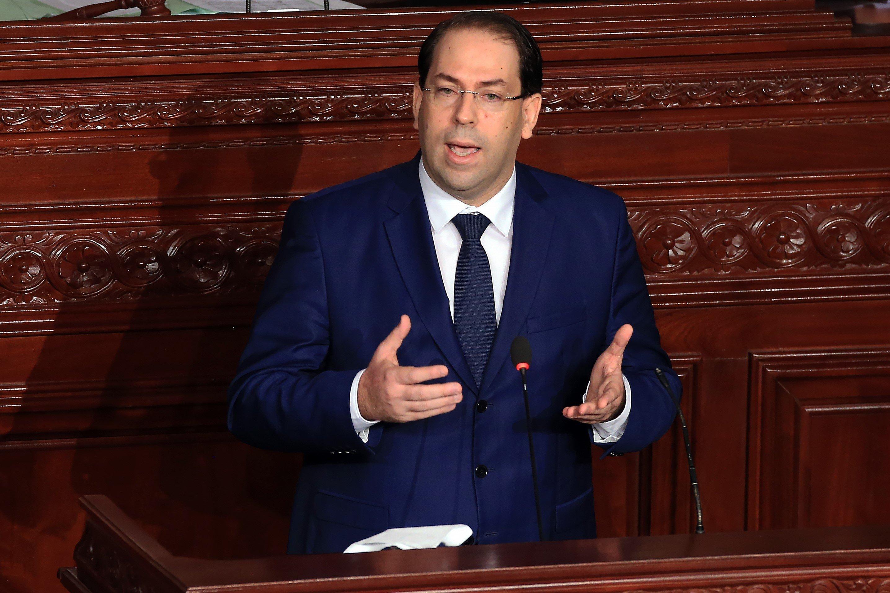 """Grève de la fonction publique: Youssef Chahed affirme ne pas avoir fait """"le choix de la facilité"""" en ne cédant pas à"""