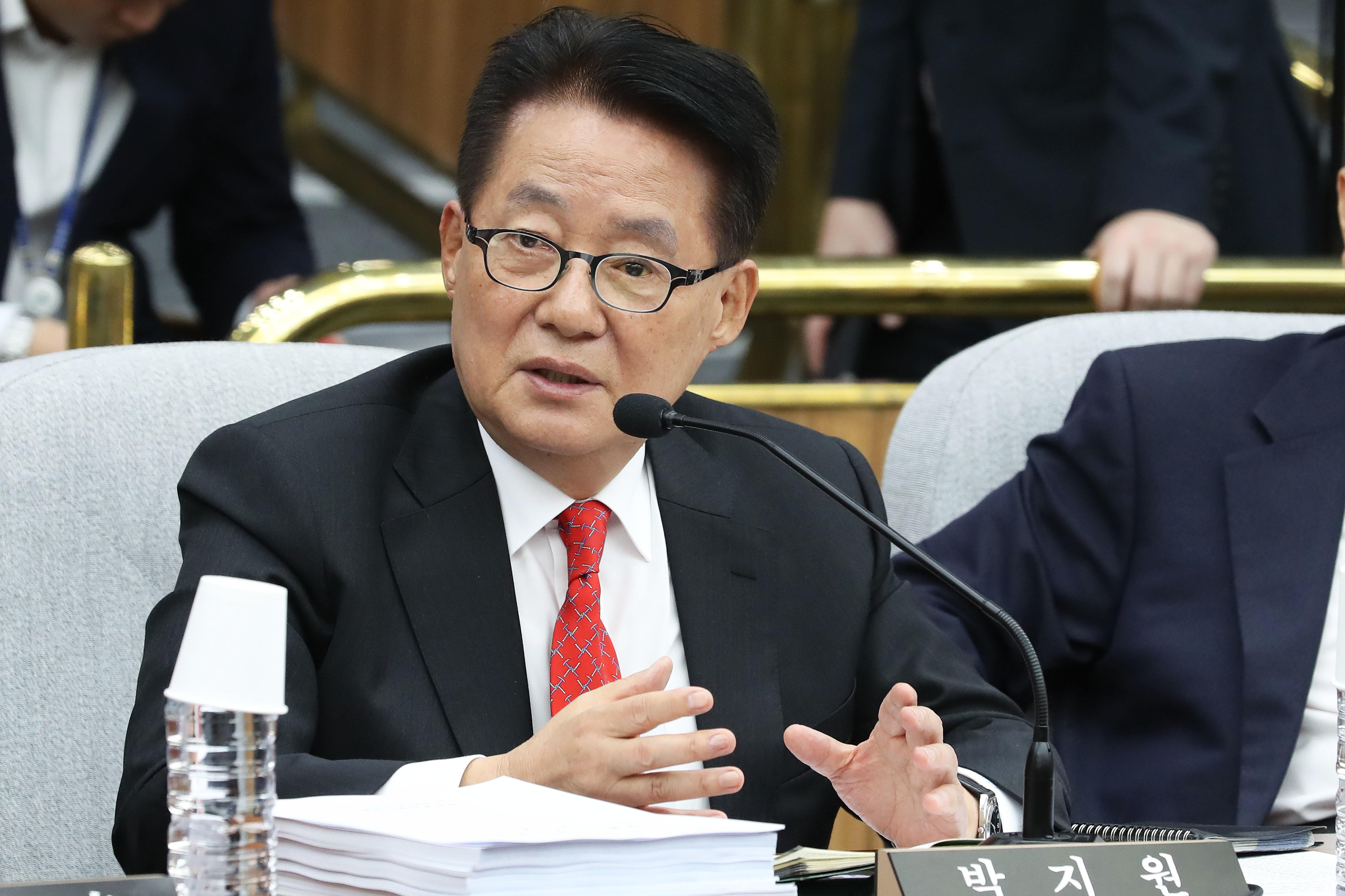 박지원 의원이 '손혜원 기자회견에 대한 입장'을