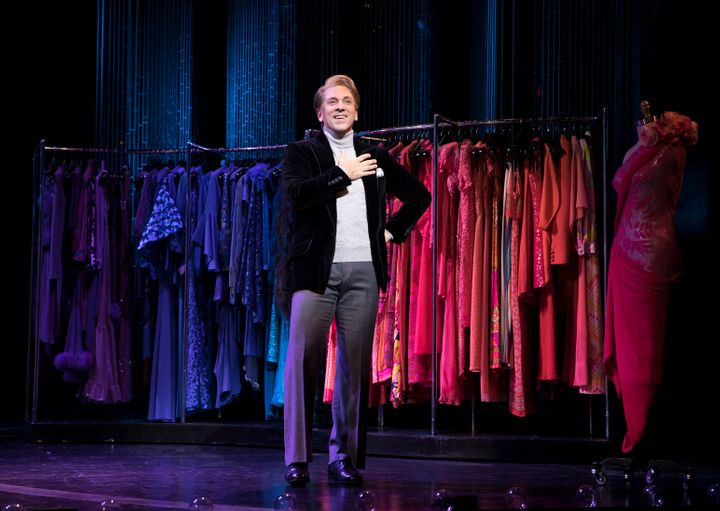 "Michael Berresse stars as legendary fashion designer Bob Mackie in ""The Cher Show,"" now on Broadway."