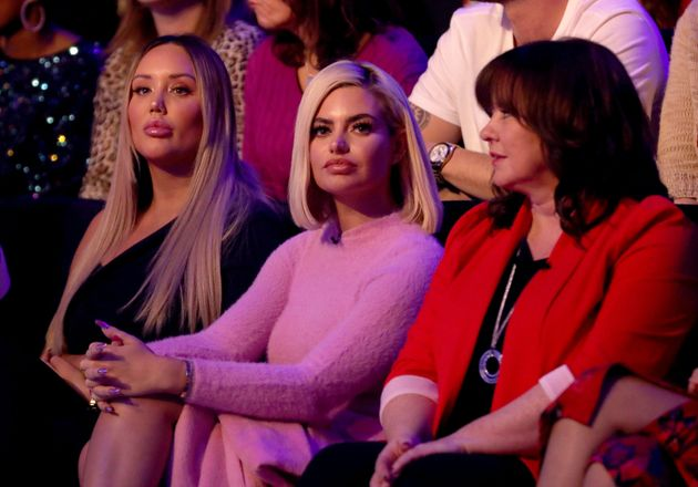 Megan Barton Hanson didn't exactly look thrilled when she was in the audience of Sunday's 'Dancing On