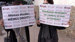À Casablanca, ils dénoncent l'explosion des frais pour les étudiants étrangers en France