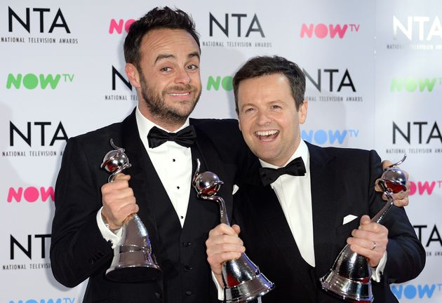 Ant and Dec always clean up at the