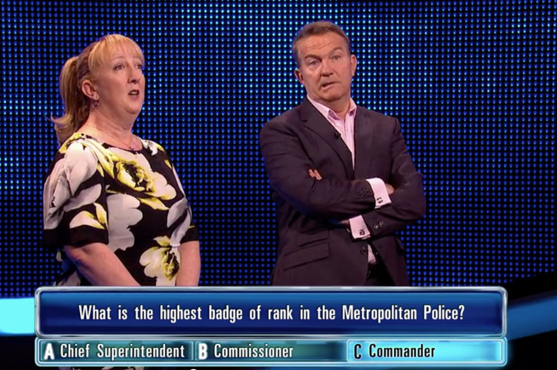 'The Chase' Contestant Suffers Embarrassment After Getting Question About Her Own Job