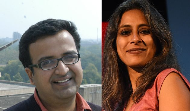 Amitabha Bagchi and Anuradha Roy in conversation with Malashri