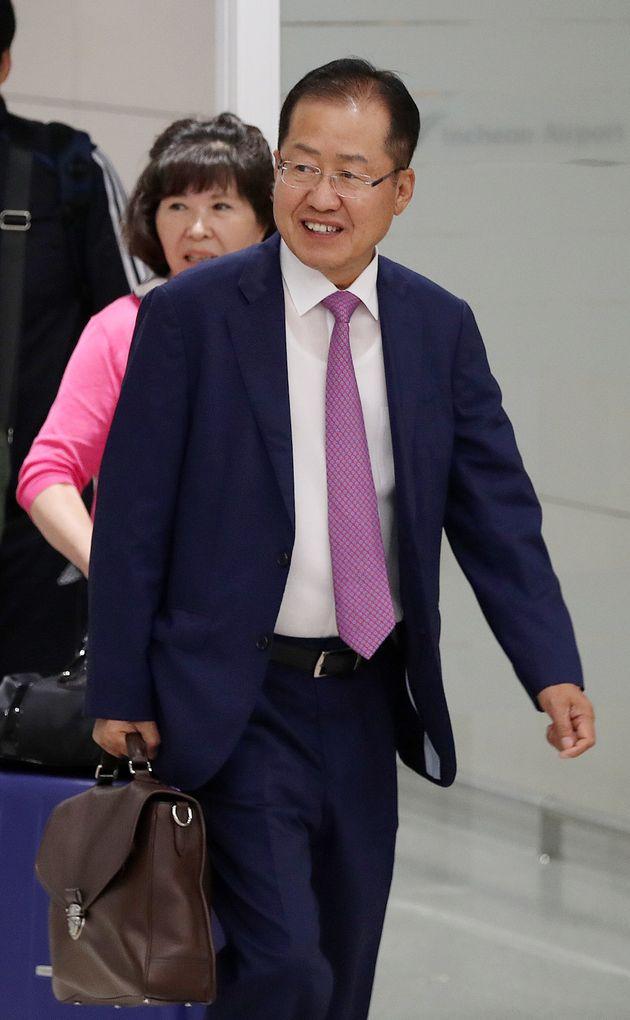 홍준표가 황교안 전 총리에 대해 직격탄을