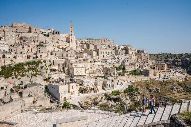 The Sassi and the Park of the Rupestrian Churches of Matera are a UNESCO World Heritage