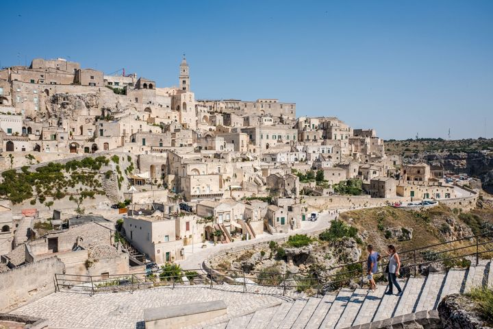 The Sassi and the Park of the Rupestrian Churches of Matera are a UNESCO World Heritage site.