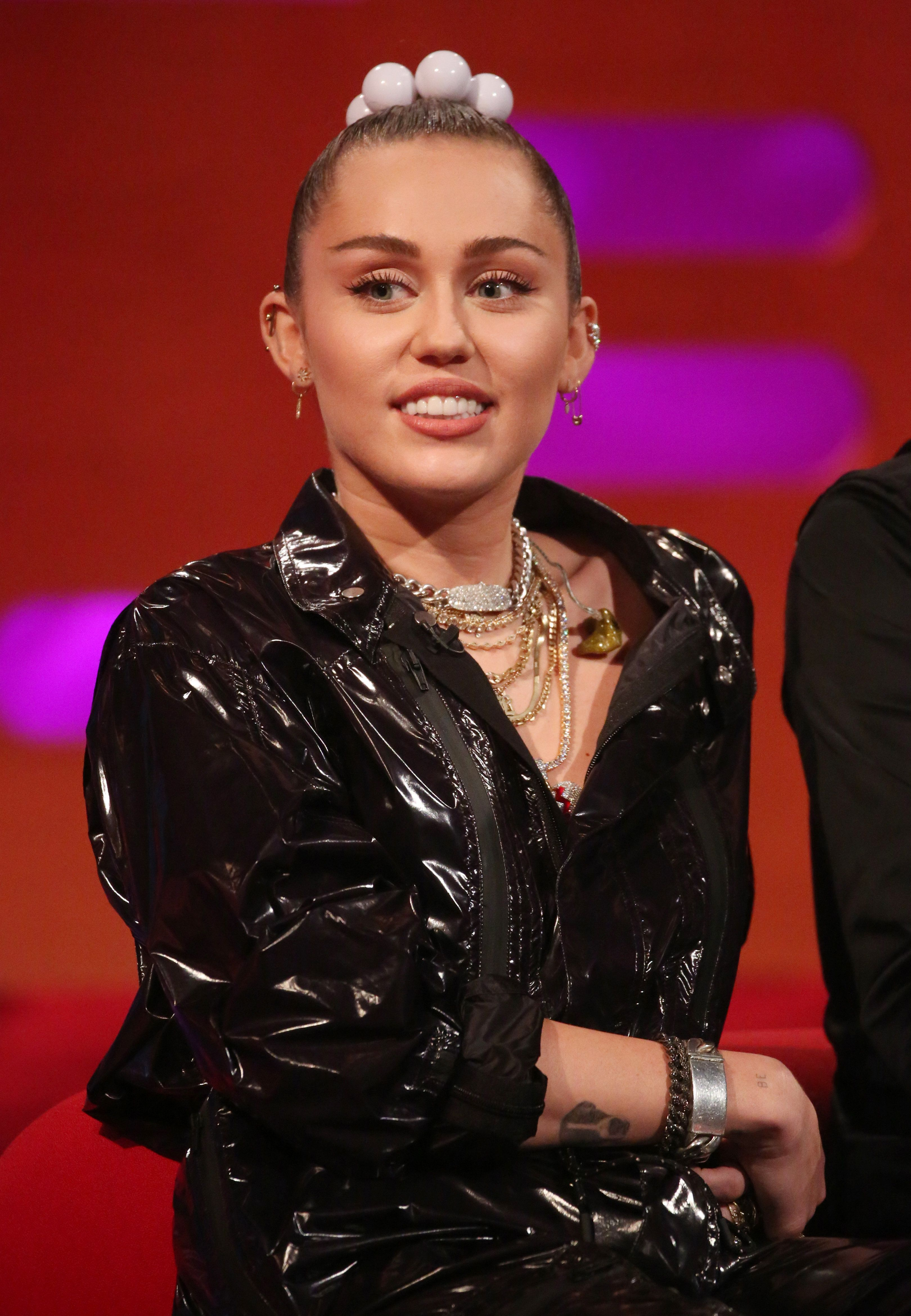 File photo dated 06/12/18 of Miley Cyrus has said she is only upset at losing her shrine to Elvis Presley when her house burned down last month.