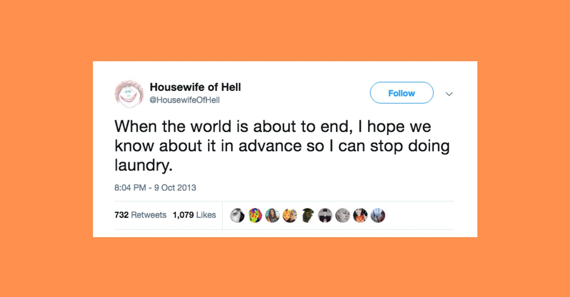 45 Funny Tweets About The Hell That Is Never-Ending Laundry