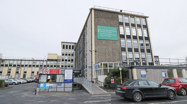 Coombe Women and Infants University Hospital in Dublin, where a woman has been refused an abortion, the...