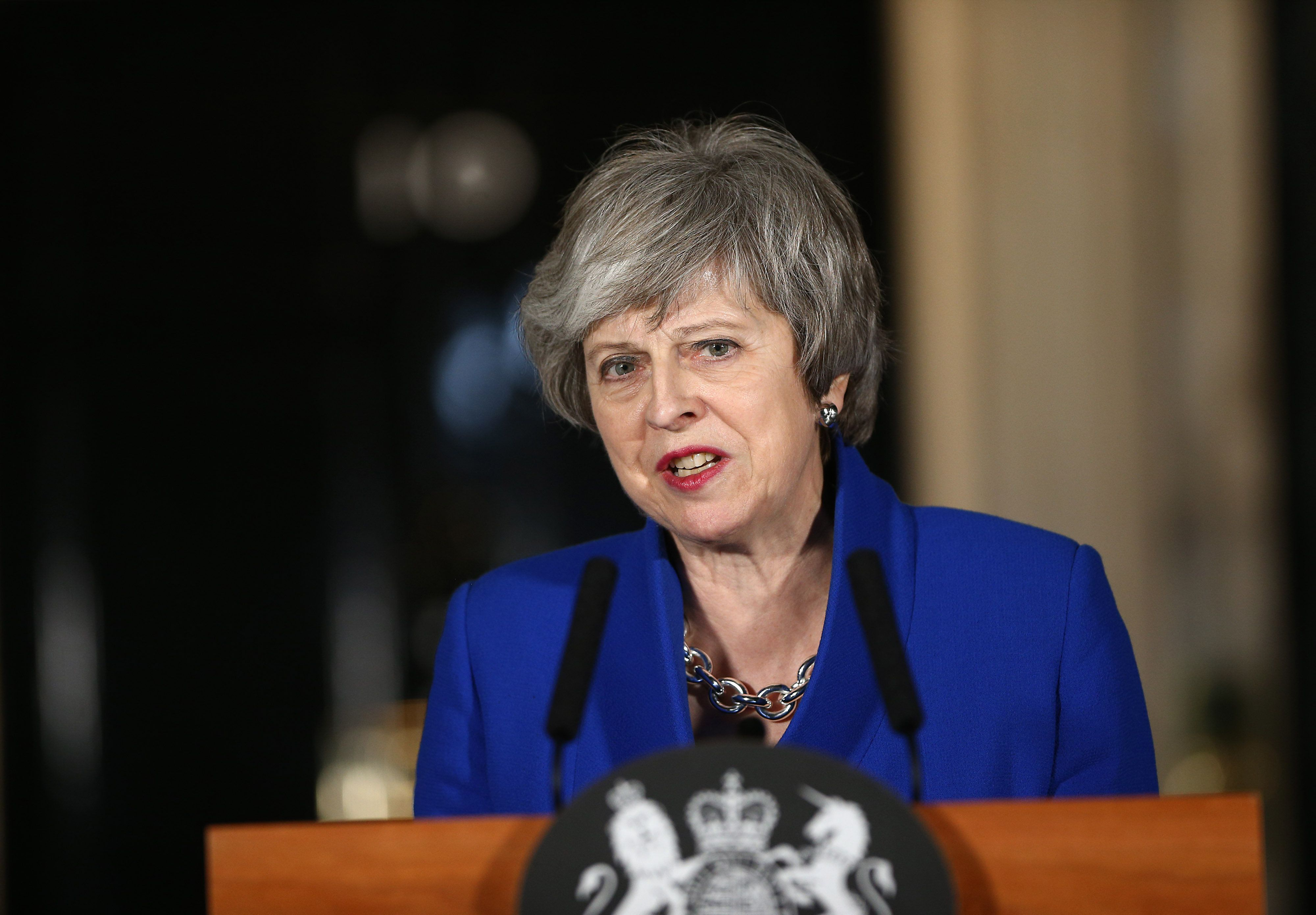 Theresa May Says Ruling Out No-Deal Is 'Impossible' In Stand-Off With