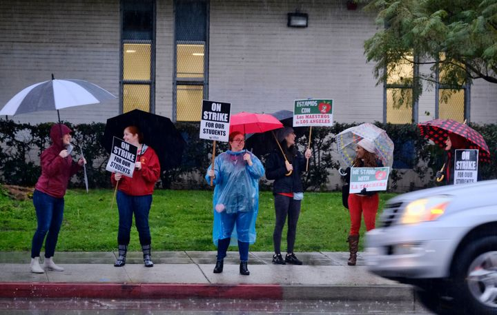 Los Angeles public school teachers, including the author, have been on strike since Monday.