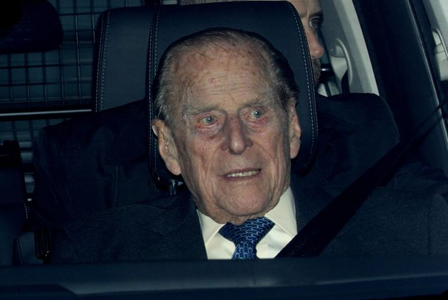 Prince Philip was last seen leaving the Queen's annual Christmas lunch at Buckingham Palace last