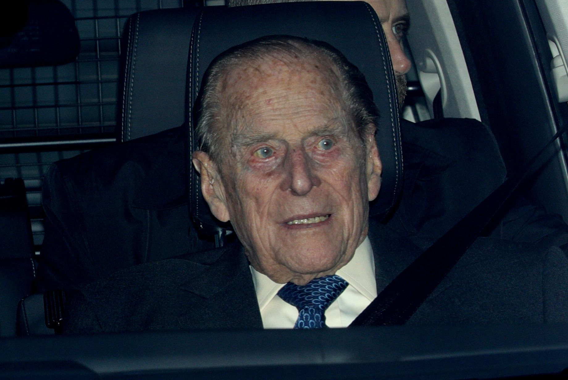 Prince Philip was last seen leaving the Queen's annual Christmas lunch at Buckingham Palace last month.