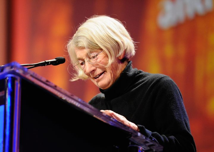 Poet Mary Oliver won the Pulitzer Prize in 1984 for <i>American Primitive</i>.