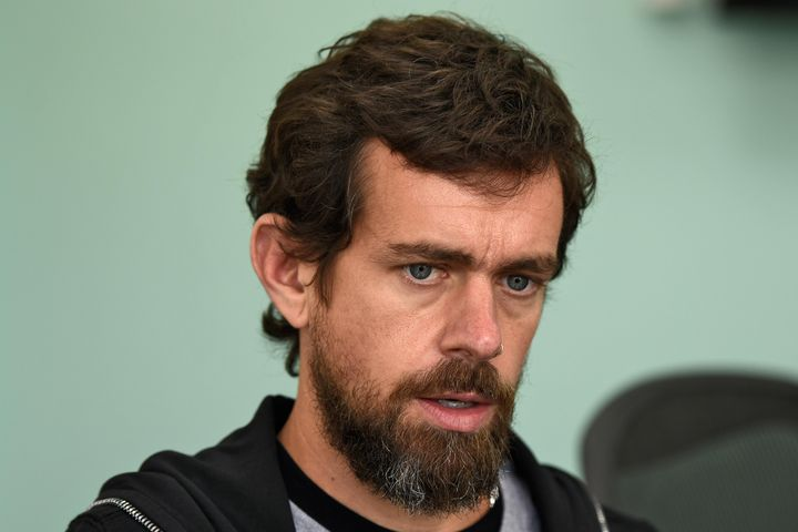 """""""I was introduced to him by a friend, and you know, he's got interesting points,"""" Twitter CEO Jack Dorsey said of"""